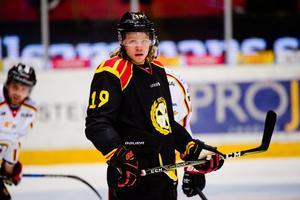 Ludvig Nilsson i Brynäströjan. Foto: Simon Hastegård / Bildbyrån