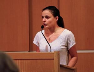 Sara Säppälä (SD) är en av 19 ordinarie ledamöter i kommunfullmäktige.