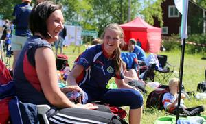 Elisabeth Skoglund och Frida Andersson från Segersta OK var på ÖSA-träffen för tredje året.