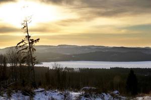Den bleka decembersolen orkar inte högt upp på himlen trots att det är mitt på dagen.
