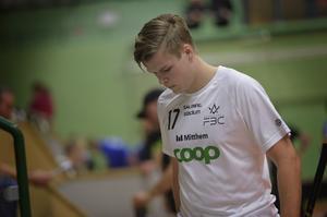 Johan Sundqvist var ett av få glädjeämnen i Sundsvall FBC. Inte bara tack vare sina två mål.