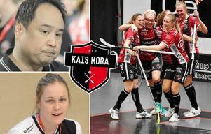 Noél Alm Johansson och Malin Andreáson tror att Kais Moras bredd kan ta laget hela vägen i SM-slutspelet. Foto: Marcus Simm och Nisse Schmidt