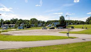 Platsen där Sibylla ska byggas, i närheten av Postnord. Foto: Siri Lallerstedt
