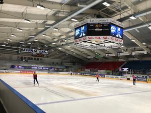 Sparta Amfi fick ett lyft inför säsongen 2012/13, men andas ändå mycket hockeytradition.
