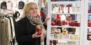 """Ingela Zetterqvist Melins butik Nu och Idag stänger. """"Det blir allt mindre handel i Köpings centrum. På ett sätt är det här kundernas val."""""""