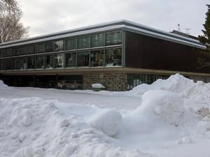 Silvanum som inrymmer Konstcentrum har kallats Gävles vackraste hus. Men det ligger lite för långt från centrum.