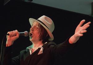 Foto: Tommy Engström                                                         Klas Norberg är solist när han och Kramfors Storband uppträder i Ullånger den 8 november.
