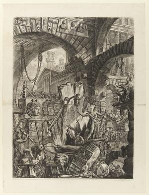 Andra gravyren i Giovanni Battista Piranesis serie
