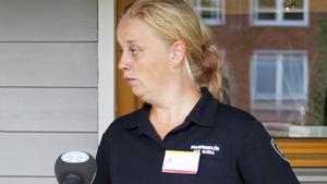 Ulrika Lindmark, chef för insatsledningen, beklagar att många fritidshusägare drabbats av branden.