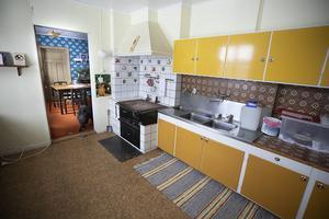 Det modernaste köket på Svangården finner man på nedervåningen intill matsalen.
