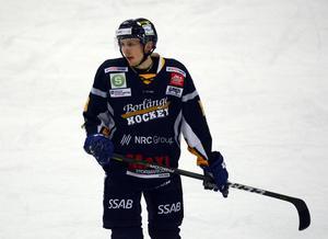 Sebastian Björnstad i Borlängetröjan.