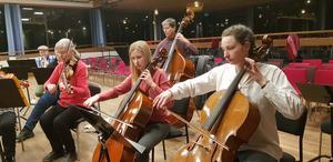 Unga musiker i orkestern borgar för ett fortsatt starkt musikliv i Södertälje.