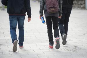 Det dricks mycket alkohol i låga åldrar under valborg, menar polisen.Bild: Fredrik Sandberg /TT