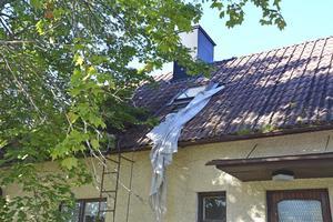 Även i Husum beskrivs problem med hus som förfaller och tomter som är skräpiga.