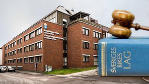 Förvaltningsrätten i Härnösand. Foto: Bildmontage