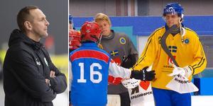 Sverige åkte på veckans andra förlust mot Jenisej på torsdagen. Bild: TT/Skärmdump Youtube