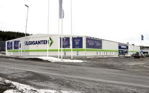 Efter flera år på Gesällvägen flyttar Elgiganten till nya lokaler i östra Birsta.