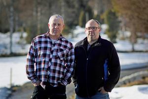 Bert Eriksson och Anders Sundin är två av de fem personerna som hoppar av vägföreningen styrelse.