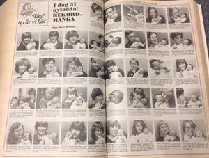 Många nyfödda i LT (18 april 1980)