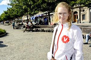 Nina Orefjärd (V), ledamot i Folkhälso-, primärvårds- och tandvårdsnämnden (FPTN).