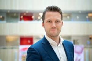 Hannes Hervieu, pressansvarig Ica gruppen. Bild: Ica gruppen.