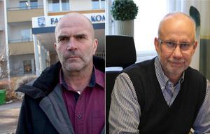 Harold Nilsson, före detta förbundschef och Peter Håkanson, NVK:s nya chef som tillträdde 1 februari 2017.
