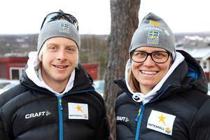 Lars Nelson och Ida Ingemarsdotter ser fram emot premiären i Bruksvallarna fredag–söndag.