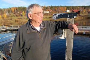 Tidningen har tidigare träffat Mats Hjort när han fortfarande arbetade på laxodlingen i Gåsvarv.
