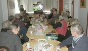 Föreningen Husåspelet har haft årsmöte, med cirka 25 medlemmar närvarande. Foto: Mats Tysk