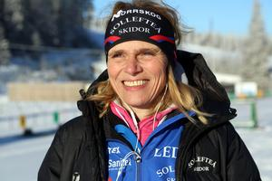Sollefteå Skidors ordförande Mia Karlsson uppskattar att det kommer närmare 1 000 personer till Sollefteå för JSM på skidor.