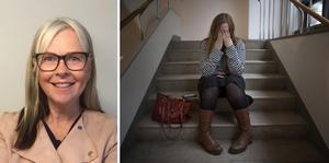 Regionpolitikern Maria Nilsson (KD) efterfrågar uppföljning av vården ur ett jämställdhetsperspektiv och vill att det inrättas ett nationellt forskningsprogram som berör kvinnors hälsa och sjukdomar. Foto: Privat/Jessica Gow/TT