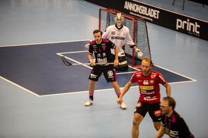 Alexander Galante Carlström i träningsmatchen mot Storvreta.