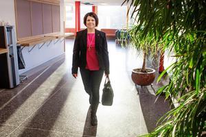 Malin Larsson vill ta klivet upp till riksdagen nästa år.