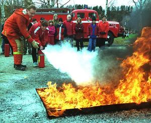 Brandskum med miljöfarliga kemikalier användes ända fram till för bara några år sedan. Bild: Stefan Sundkvist