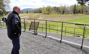 Terrassen ovanför hål arton är helt nyrenoverad, en åtgärd som dock inte var inplanerad redan i år enligt Gunnar Dahl.