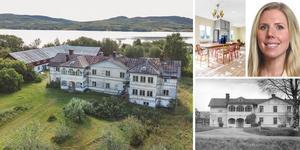 Logården har genom årens lopp fungerat som bland annat barnhem och äldreboende. Bilder: Mäklarfirman Carlsson Ring och Polyfoto/Sundsvalls museum