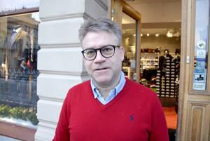 Per-Erik Christensen, 56, butiksägare, Sundsvall: