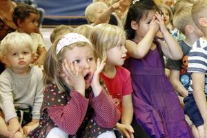 Just nu har många barn ledigt , men i augusti kommer de att komma tillbaka till en moderniserad  förskola.