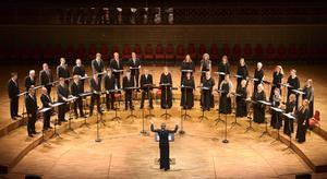 Eric Ericsons Kammarkör gästade Gävle och sjöng i Brahms dödsmässa. Bild: Jan-Olav Wedin