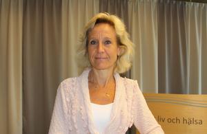 Bild: Region Västernorrland. Märta Molin, direktör för regional utveckling.