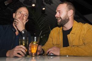 Brasseriet. Tommy och Fredrik. Foto: Fabian Zeilitz