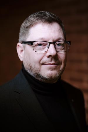 Per Lodenius är riksdagsman och Centerpartiets kulturpolitiske talesperson. Foto: John Guthed.