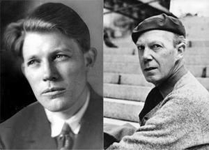 Harry Martinson och Gunnar Ekelöf var sin tids nyskapare inom lyriken.