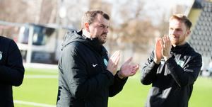 VSK:s huvudtränare Thomas Gabrielsson.