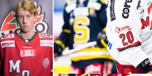 Tobias Arvidson får chansen i Modo Hockey och finns med i laget mot Södertälje under fredagen. Foto: Robin Hedqvist/Modo Hockey/Andreas Sandström / BILDBYRÅN