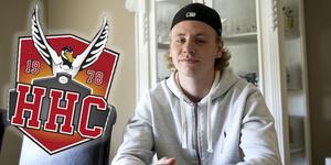 Mathias Hellgren kommer ge HHC extra tyngd i det offensiva spelet nästa säsong.