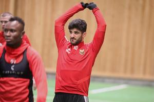 Rewan Amin är tillbaka i Östersund efter ÖFK-spelarnas ledighet och ser fram emot en ny säsong, där han vill ta större ansvar ute på planen.