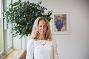 """""""Jag tycker det är roligt med de bitar som handlar om att hjälpa andra att lyckas i sina olika roller"""" säger Katarina Ageborg."""