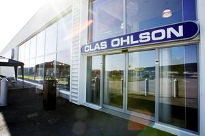 Clas Ohlsons butik i Birsta. Företaget har även butiker i centrala Sundsvall och i Örnsköldsvik. Bild: Sofie Wiklund