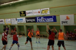 Det var full fart under matchspelande den avslutande dagen. Bild: Rasmus Engqvist